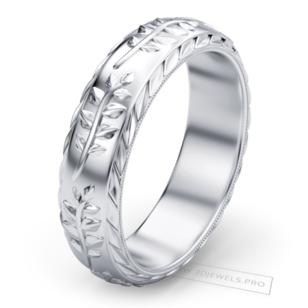 olive-leaf-band-ring-image-1
