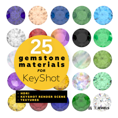 25-gemstone-shaders-for-KeyShot-pack1-View1