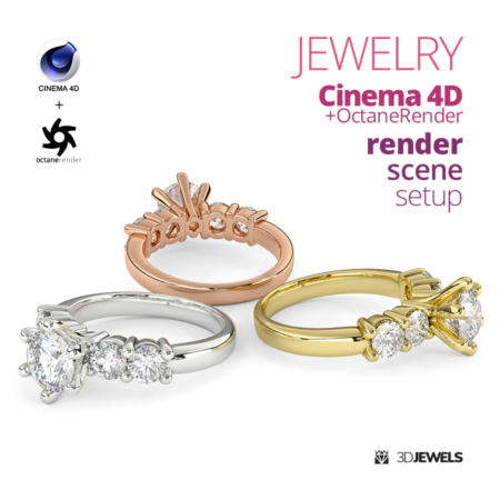 Jewelry-Render-Scene-Setup-For-Cinema4D-OctaneRender-View1-03