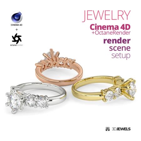 Jewelry-Render-Scene-Setup-For-Cinema4D-OctaneRender-View1-03