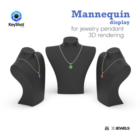 Mannequin-display-jewelry-pendant-3d-rendering-Image1