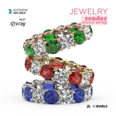 Jewelry-HQ-Render-Scene-Setup-3dsMax-Image1
